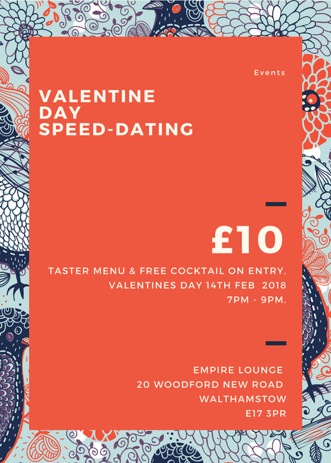 speed dating wembley