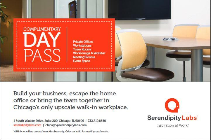 Complimentary Coworking Day at Serendipity La