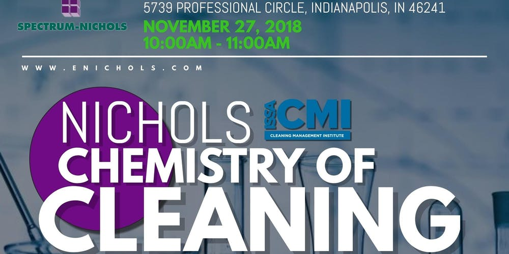 Indianapolis Chemistry Of Cleaning Issa Cmi Long Term Care