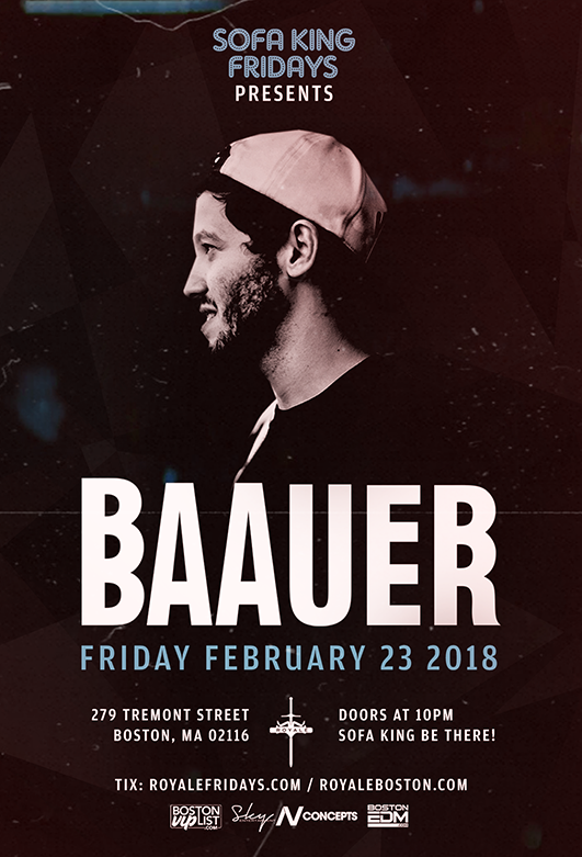 Baauer at Royale | 2.23.18 | 10:00 PM | 21+