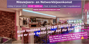 Open Coffee Utrecht | Nieuwjaars- en Netwerkbijeenkomst