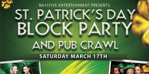 HOLLYWOOD ST PATRICK'S DAY BLOCK PARTY AND PUB CRAWL