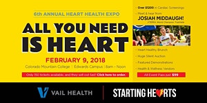 Starting Hearts 6th Annual All You Need is Heart