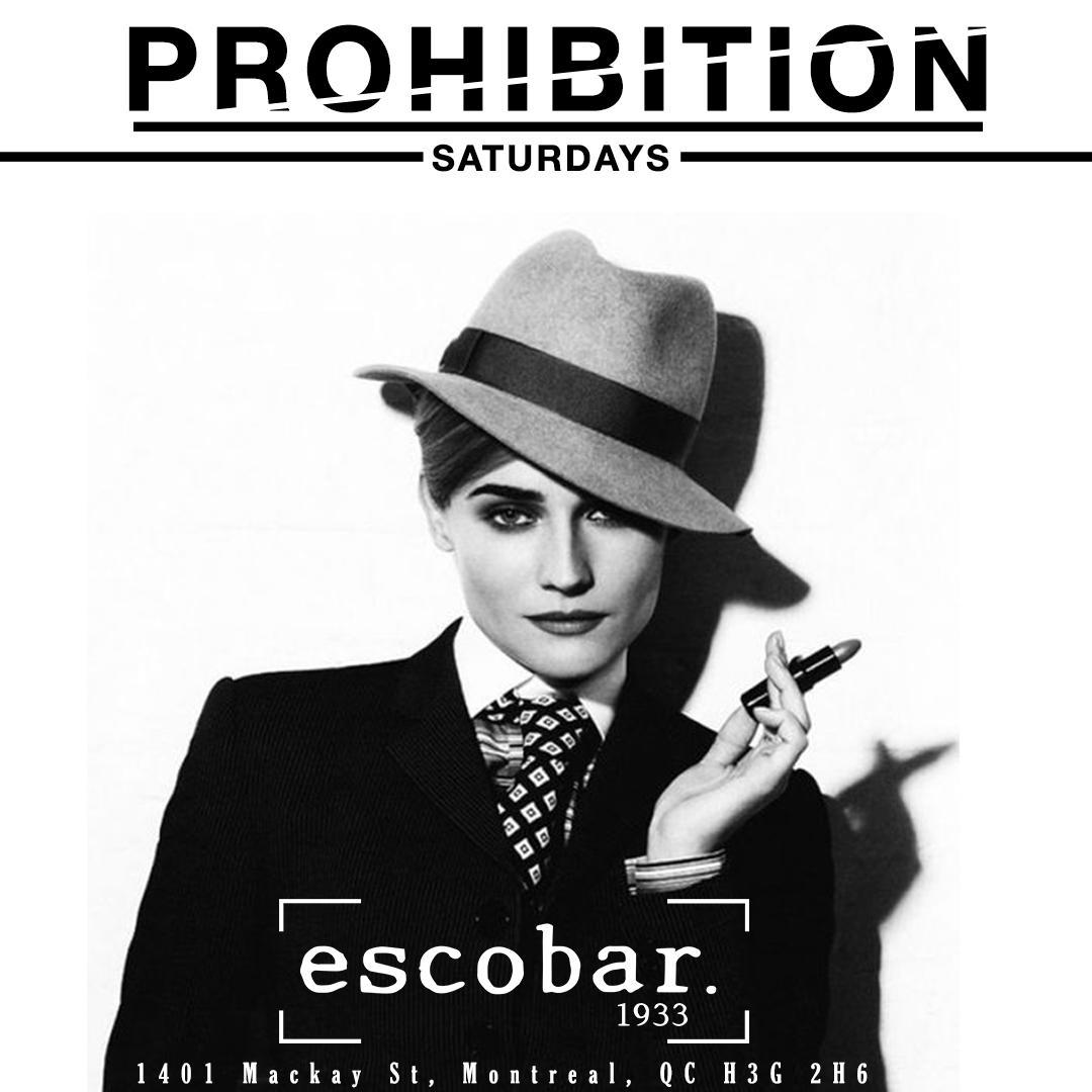 Prohibition Saturday