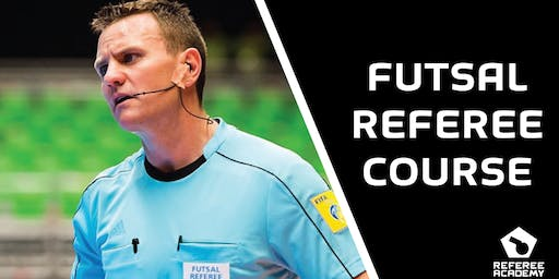 Futsal Referee Course Level 3 (Beginners)
