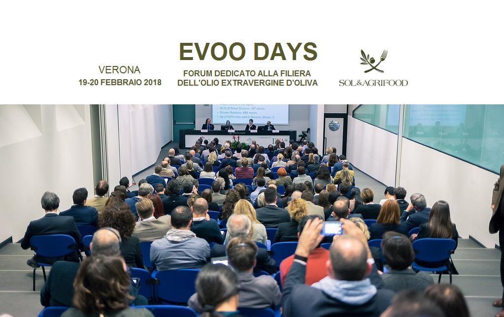 Evoo Days: il forum della filiera olivicola