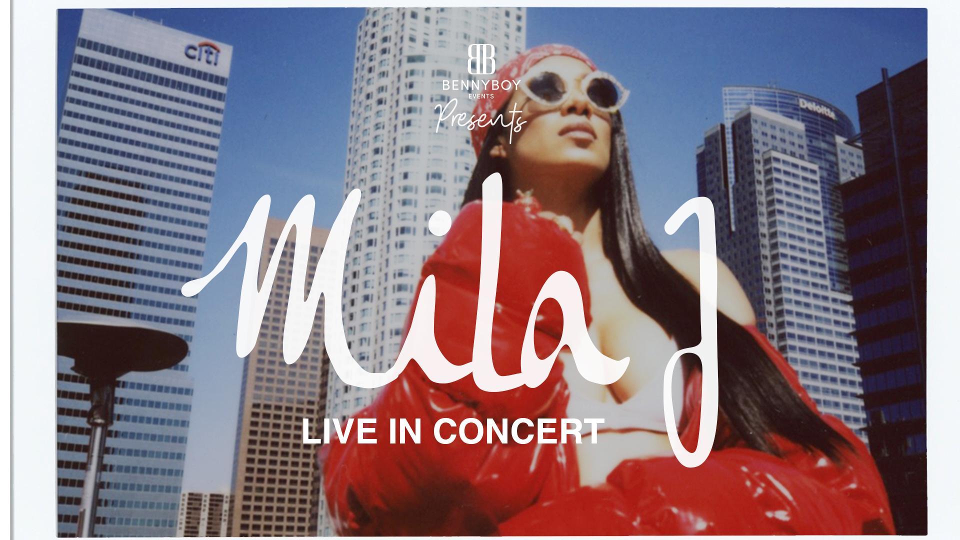 Mila J - Live in Amsterdam