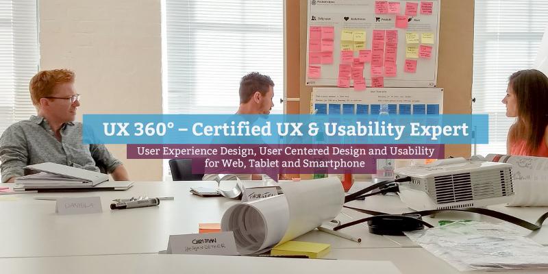UX 360° - Certified UX & Usability Expert (en
