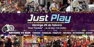 Just Play! / Evento Gamer - Nintendo VS Sega