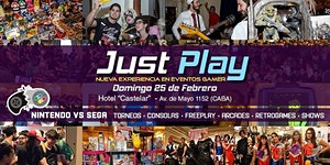Just Play! / Evento Gamer - Nintendo VS Sega