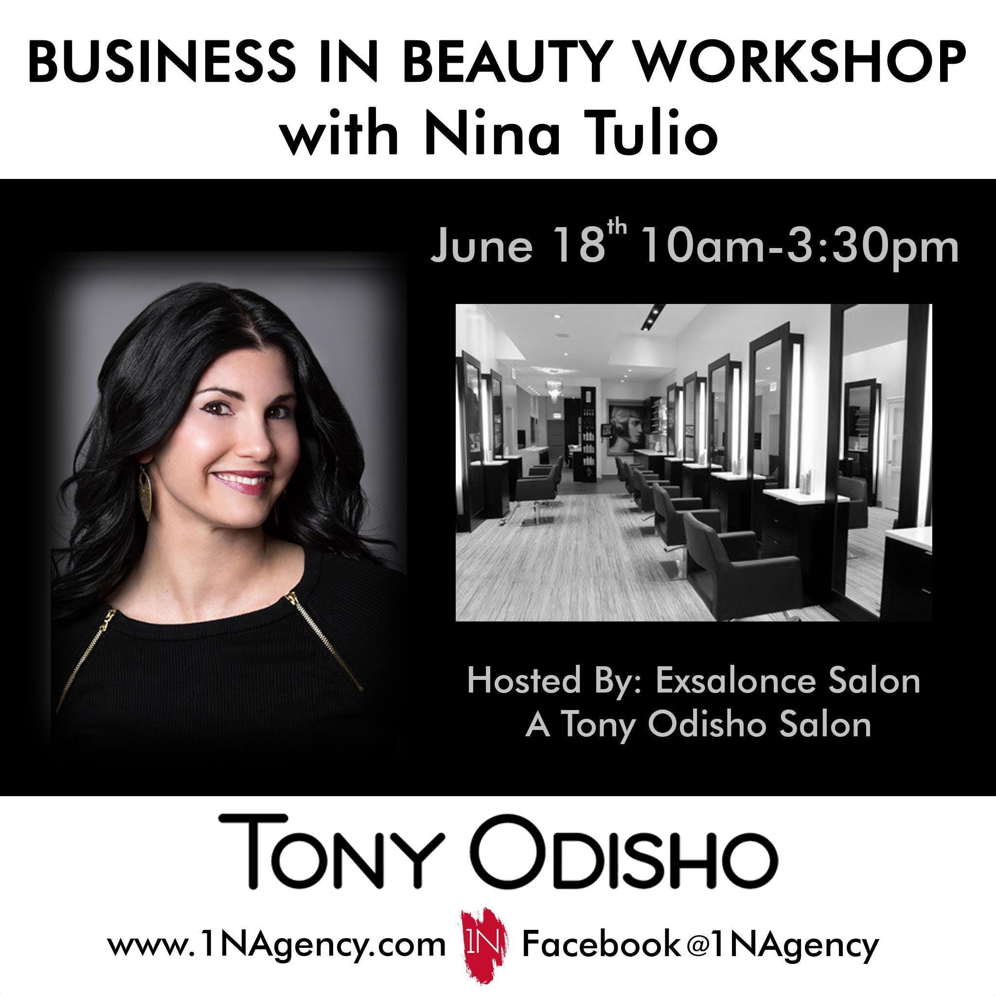 Business in Beauty- In Salon Workshop with Ni