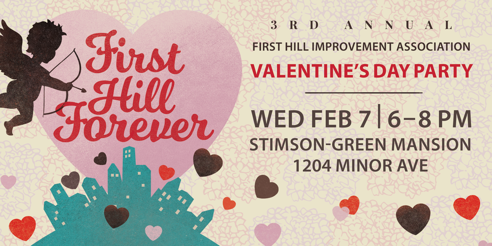 first hill valentines day party tickets