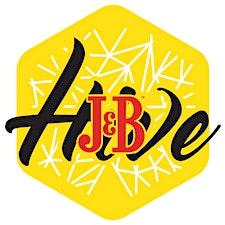 The J&B Hive logo