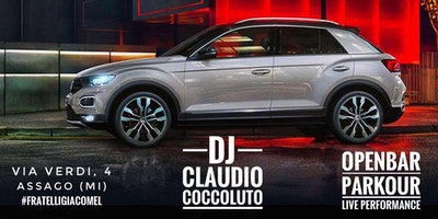 Launch T Roc - Ingresso Free con Open Bar - Special Guest Claudio Coccoluto