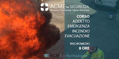 Addetto Emergenza Incendio ed Evacuazione|Attività a rischio medio