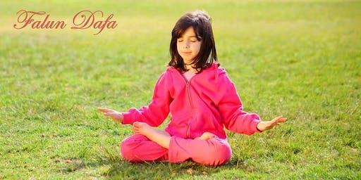 Falun Dafa: Gratis meditatielessen, Minnewaterpark Brugge