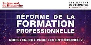 REFORME DE LA FORMATION PROFESSIONNELLE: QUELS ENJEUX...