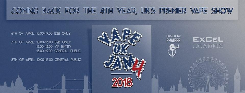 Vape Jam UK 4 - UK's Largest Electronic Cigar