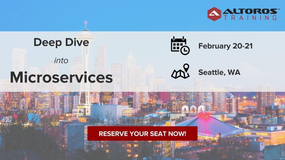 [TRAINING] Microservices Architecture: Seattl