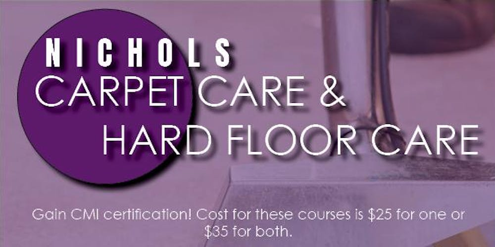 Issa Cmi Hard Floor Care Carpet Care Courses Tickets Wed Oct 10