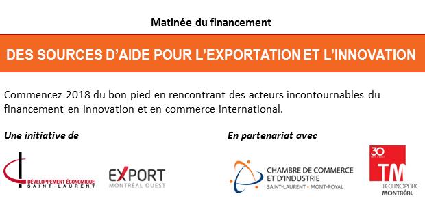 Sources d'aide pour l'exportation et l'innova