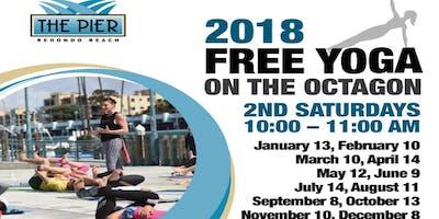 Free Yoga on the Octagon - 2nd Saturdays