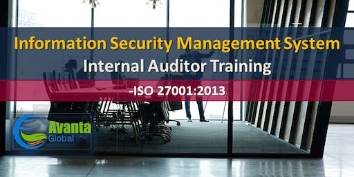 ISO 27001:2013 Information Security Management System Internal Auditor Course