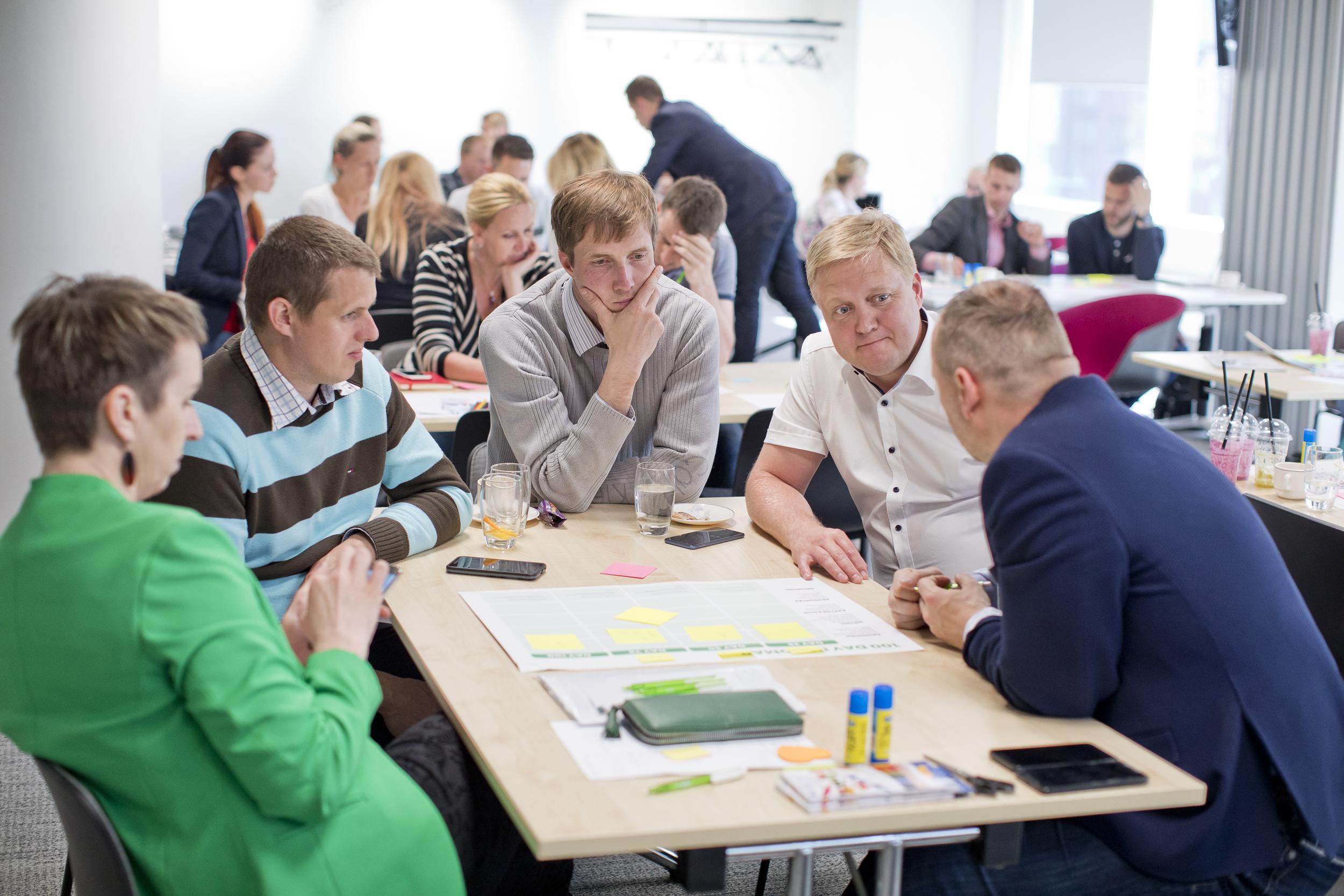 Kuidas luua innovatsiooni toetav organisatsio