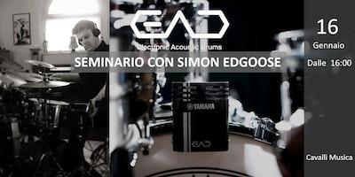 Seminario Yamaha EAD10 - La Novità per batteristi del 2018!