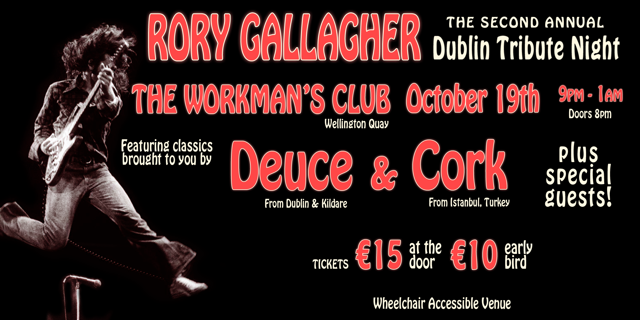 Rory Gallagher Dublin Tribute Night