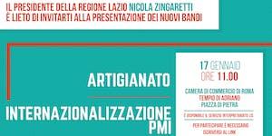Presentazione Bandi Artigianato e Internazionalizzazion...