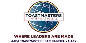 AAPA Toastmasters Club Meeting 2018