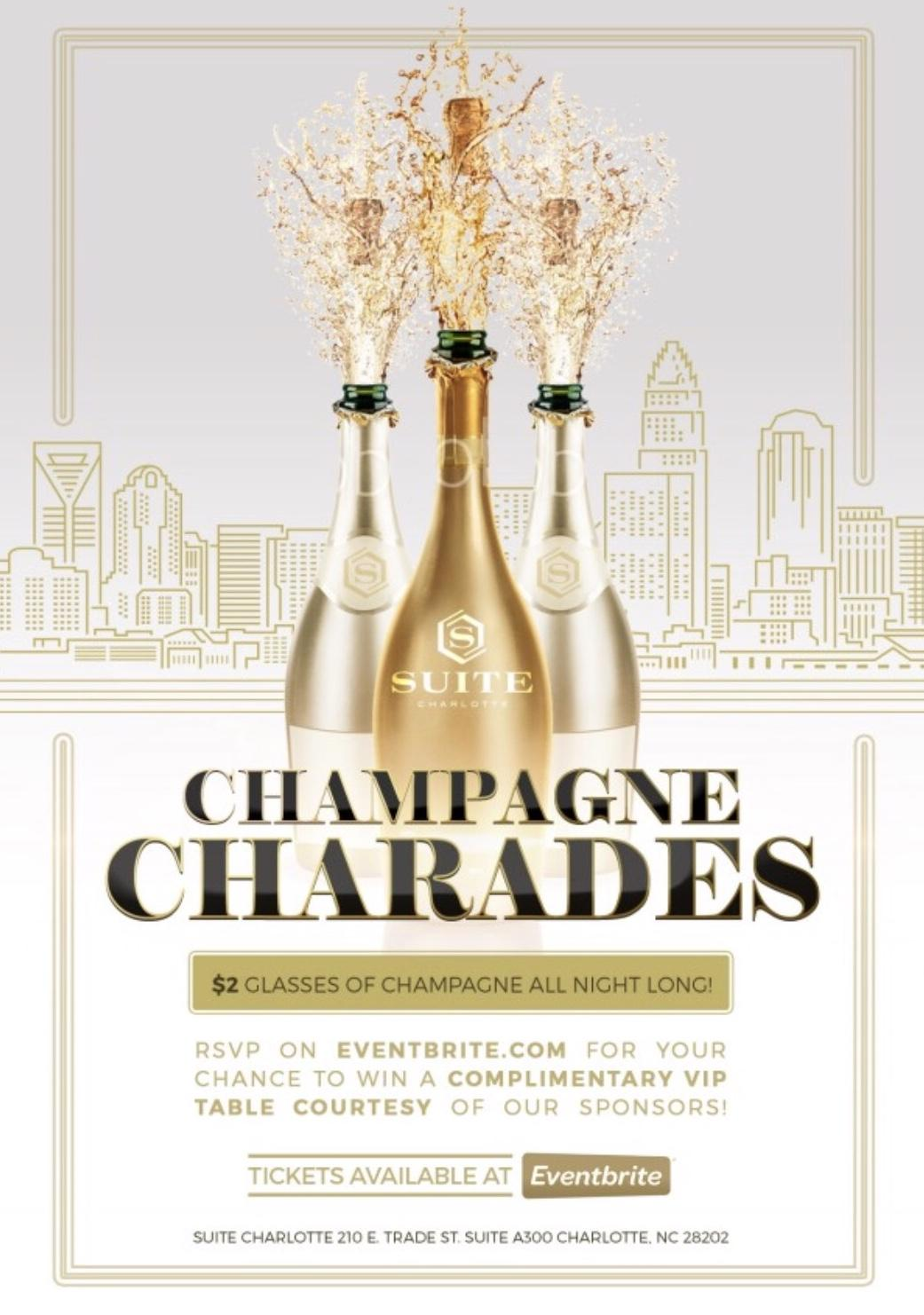 Champagne Charades!