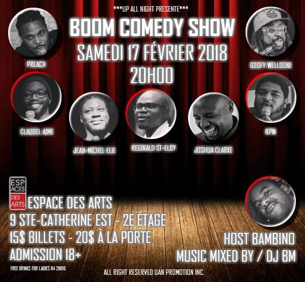 Boom Comedy Show
