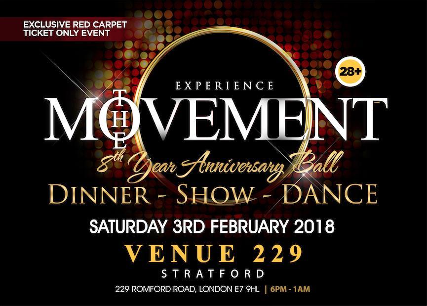 the movement 8th year anniversary ball 3 feb 2018