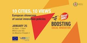 10 CITIES, 10 VIEWS European showcase of social...