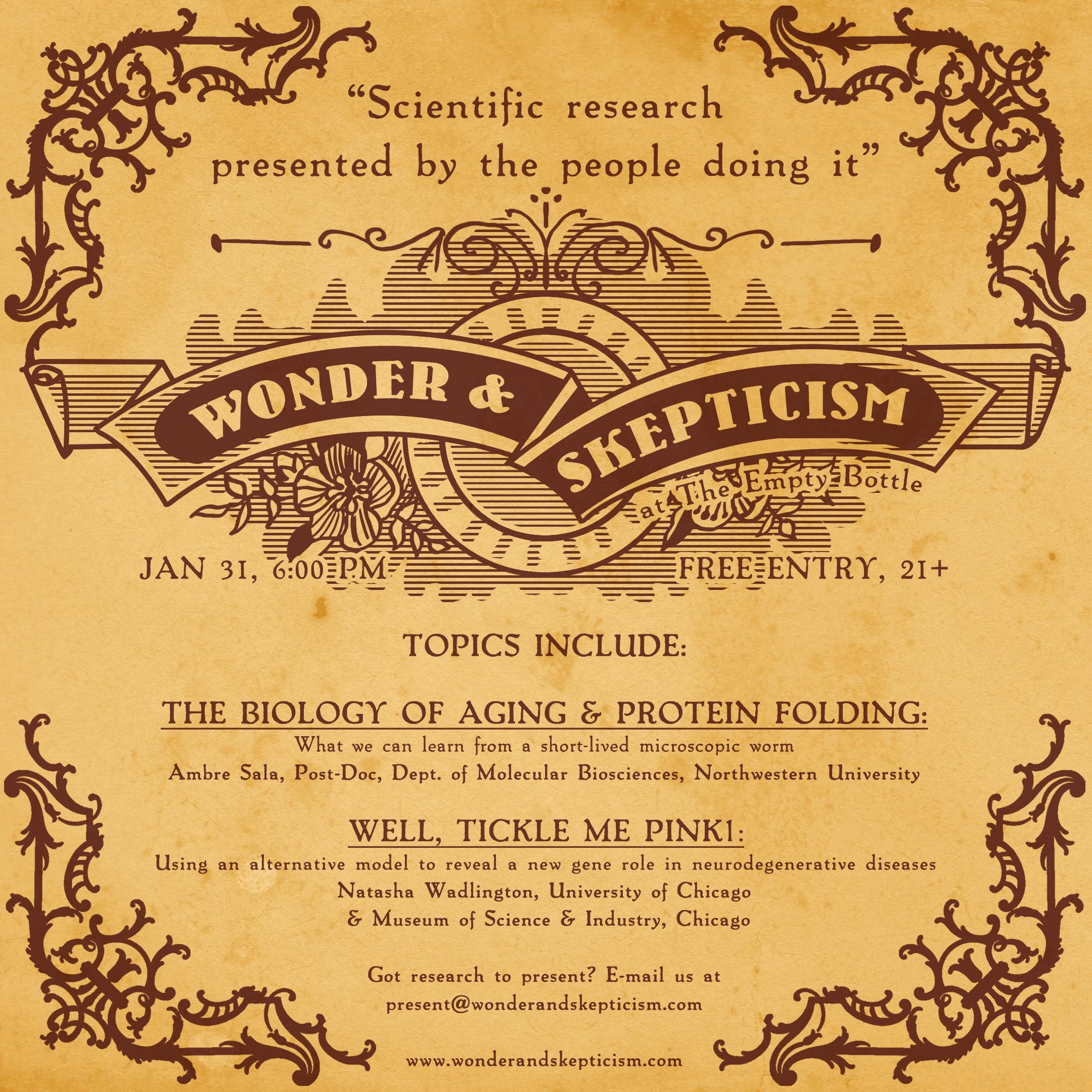 Wonder & Skepticism