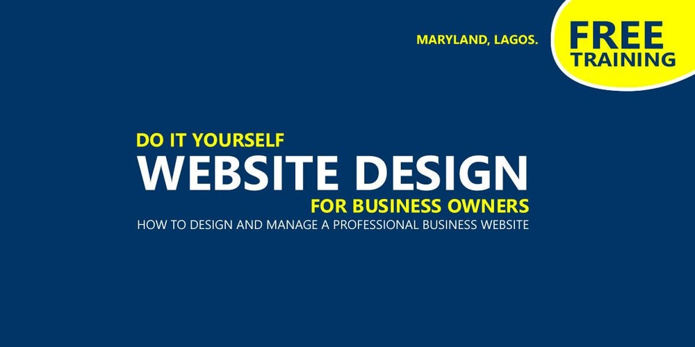 Diy website design for business owners tickets thu jan 18 2018 diy website design for business owners tickets thu jan 18 2018 at 1000 am eventbrite solutioingenieria Gallery
