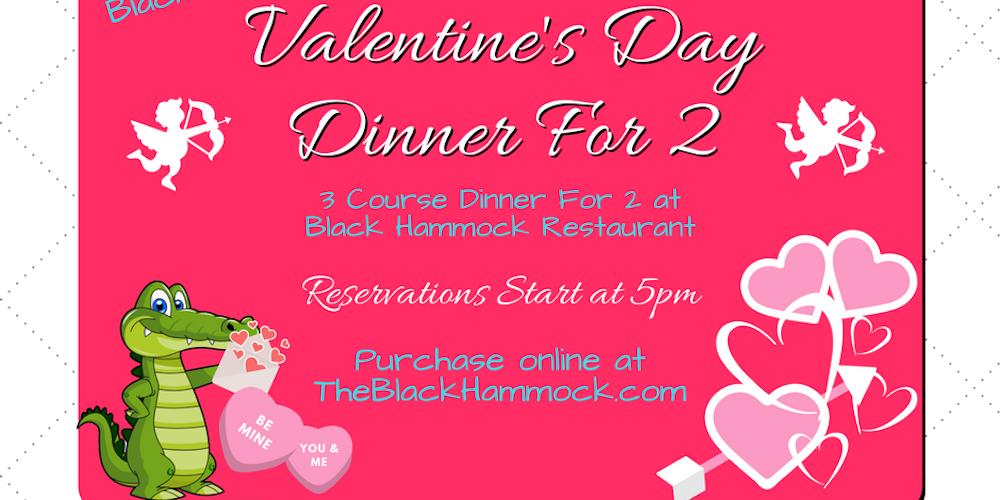 Black Hammock Valentine\'s Day Tickets, Wed, Feb 14, 2018 at 5:00 ...