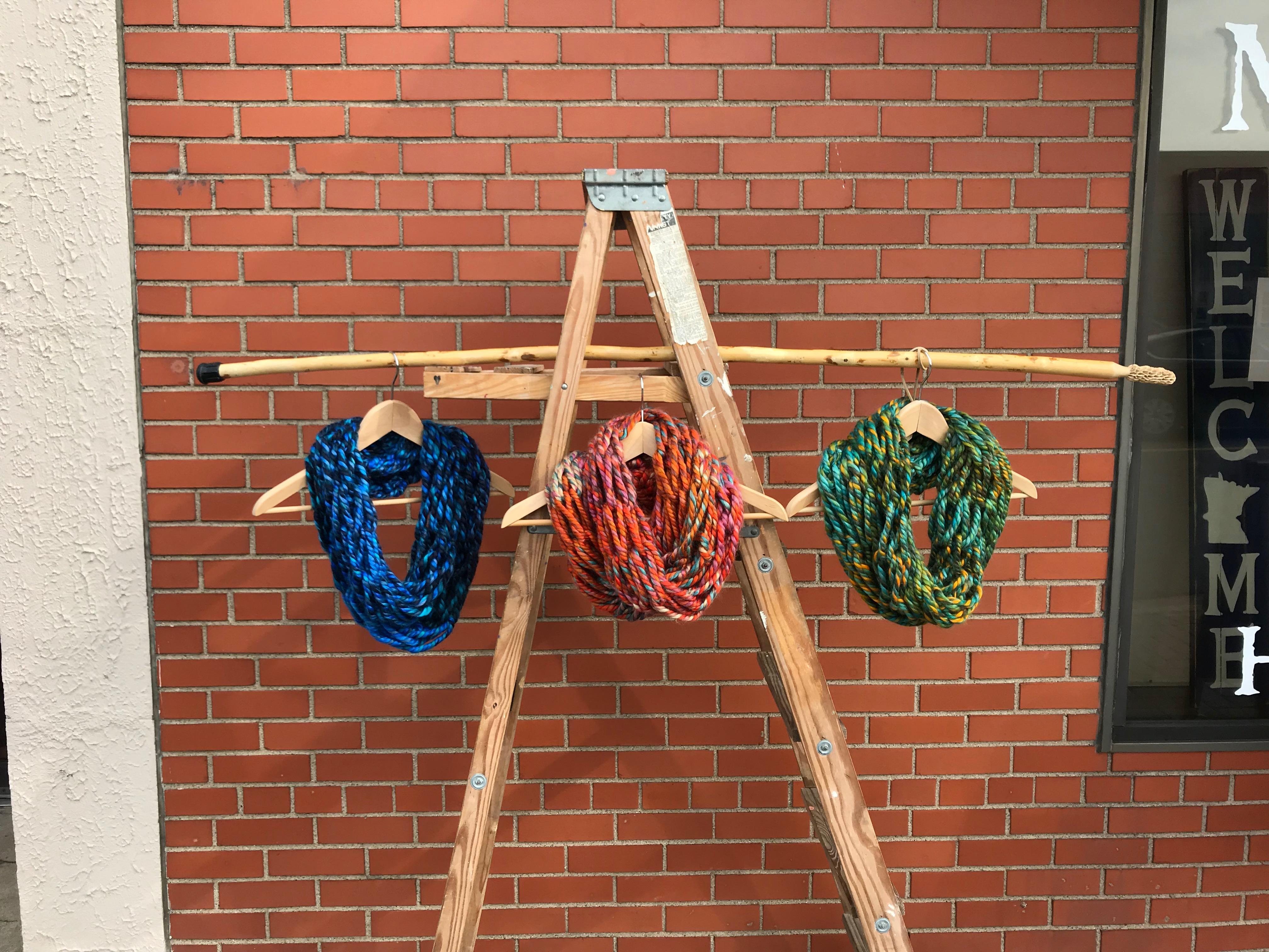 Arm Knit Infinity Scarf Workshop