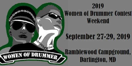 2019 Women of Drummer Contest Weekend tickets