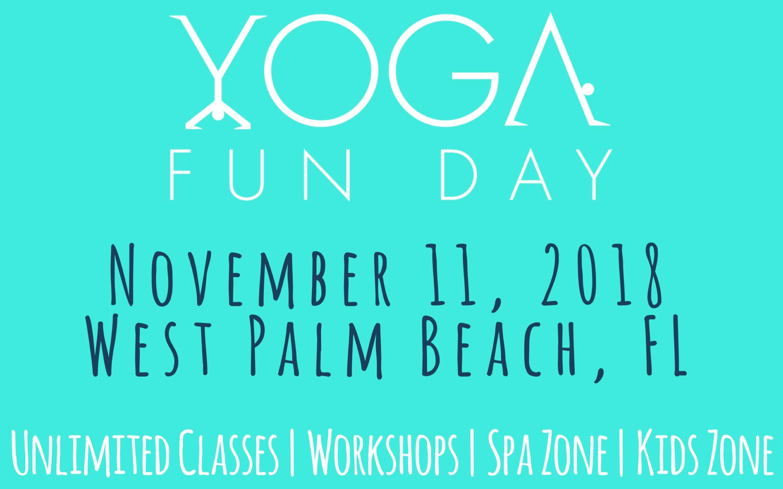 Yoga Fun Day West Palm Beach, Florida