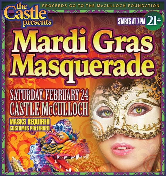 The 2018 Mardi Gras Masquerade!