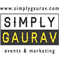 SimplyGaurav Events logo