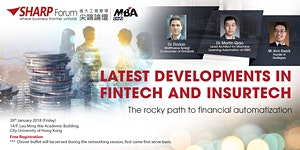 CityU MBA SHARP Forum: Latest Developments in Fintech...