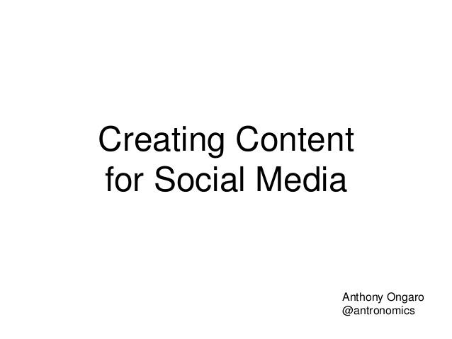Creating Content for Social Media Carrick on Suir