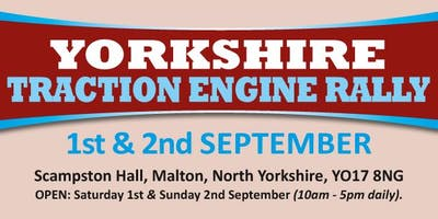 Yorkshire Traction Engine Rally (Buy Trading Space)