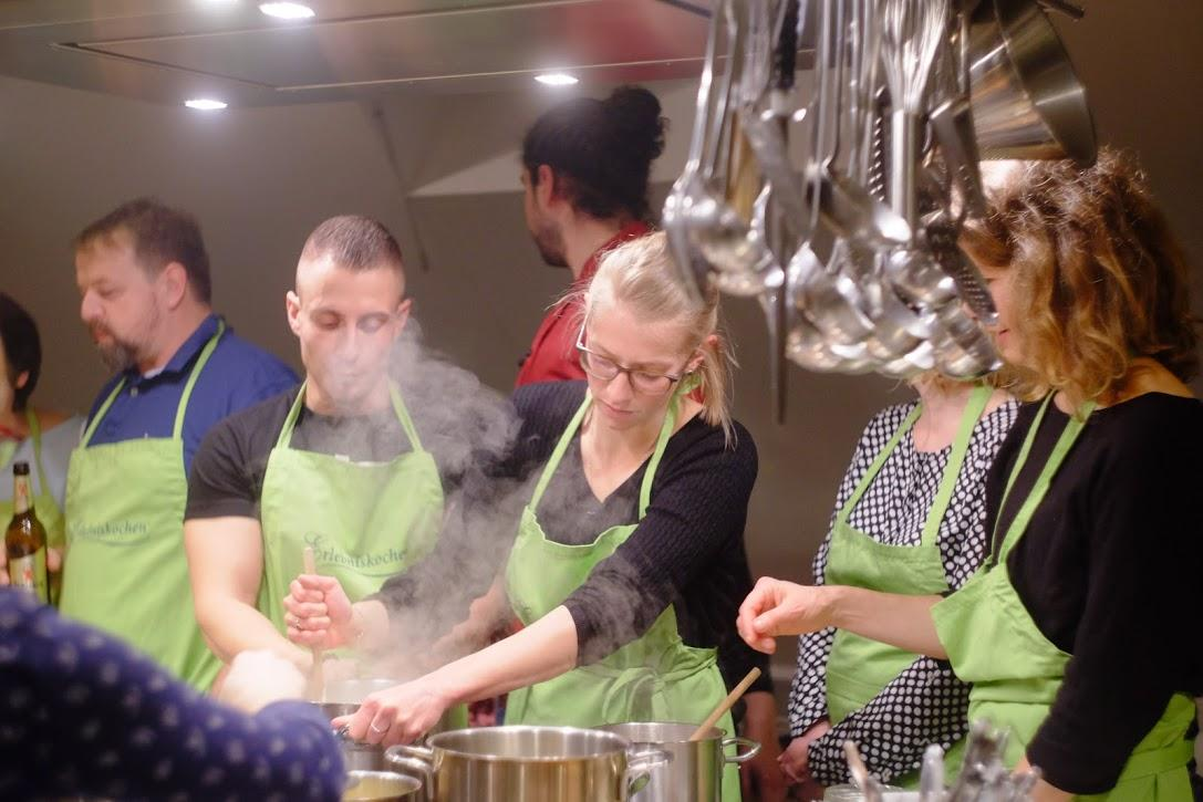 Kitchen-Teambuilding
