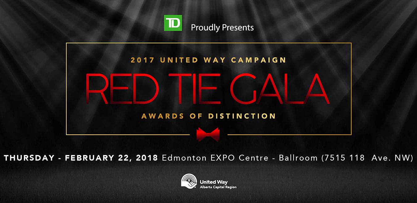 United Way Red Tie Gala, 2017 Awards of Disti
