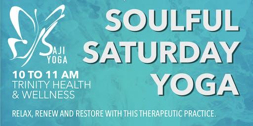 Soulful Saturday Yoga